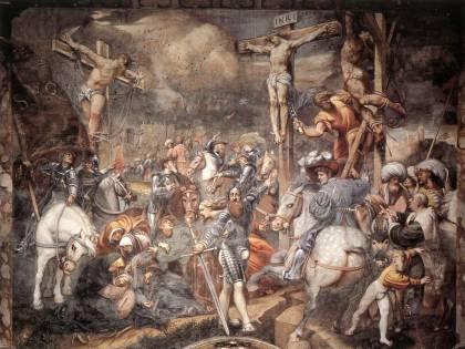 Così il Pordenone a Cremona inscenò una Crocifissione
