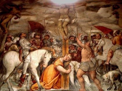il Romanino fra i santi contadini della Valcamonica