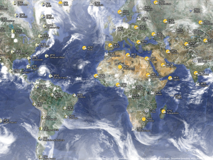 Le previsioni meteo sballate? Perché è colpa del Coronavirus