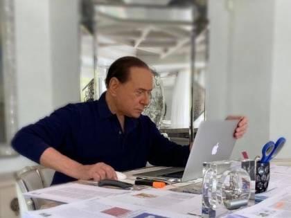 """Coronavirus, Berlusconi. """"Il governo non fa abbastanza. I recovery bond? Più efficaci"""""""