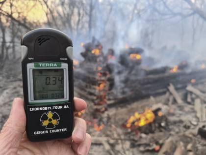 Rischio di un fallout concreto. È pericolo incendi a Chernobyl