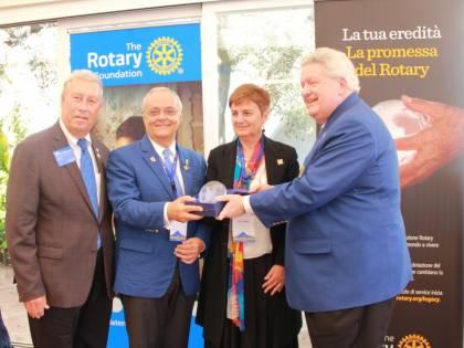 Rotary vuol dire solidarietà: il sostegno all'Italia colpita dal Covid