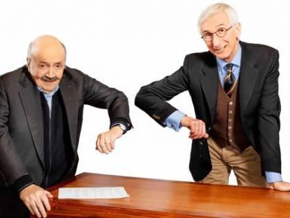 """Il duo Costanzo Broccoli: """"Insieme per raccontare la grande tv di una volta"""""""