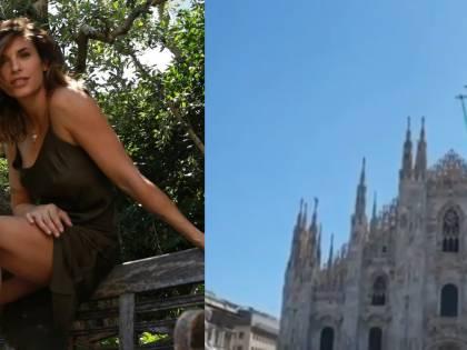 """Elisabetta Canalis si emoziona con le Frecce Tricolore. Ma i fan la insultano: """"Costano una fortuna"""""""