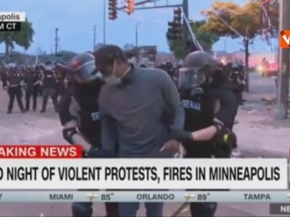 Minneapolis, arrestata tropue tv. In manette il poliziotto coinvolto