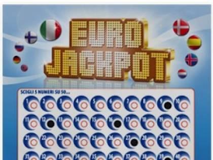 L'Eurojackpot premia l'Italia con una vincita 33 milioni di euro