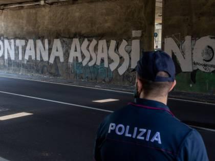 Minacce a Fontana, indagati 6 militanti dell'estrema sinistra