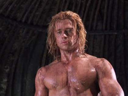 """Infortuni, guerre e """"pronto ad uccidere"""": così Troy ha fatto impazzire Brad Pitt"""