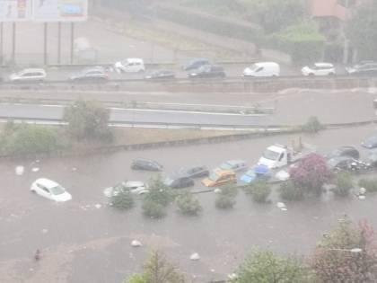 Nubifragio, Palermo in tilt: e nei sottopassi muoiono annegati