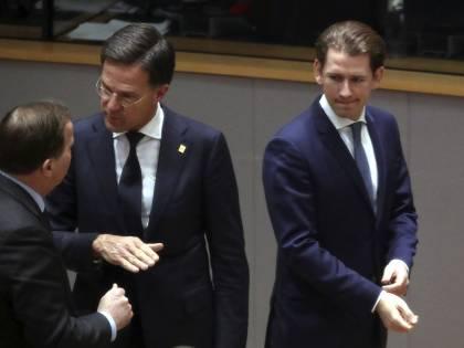Mark Rutte and Kurz versus the European transfer union
