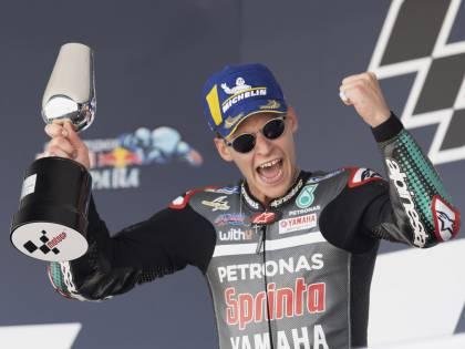 Pole di Quartararo, Rossi fa acquisti in MotoGp