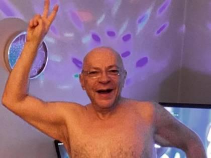"""Mauro Coruzzi """"Platinette"""", foto choc nel letto"""