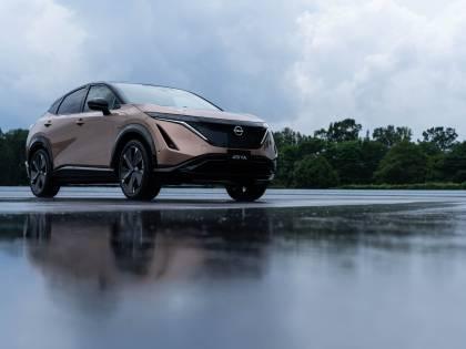 Nissan Ariya è il crossover coupé che fa girare pagina
