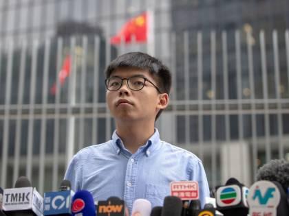 A Hong Kong condannato l'attivista Joshua Wong