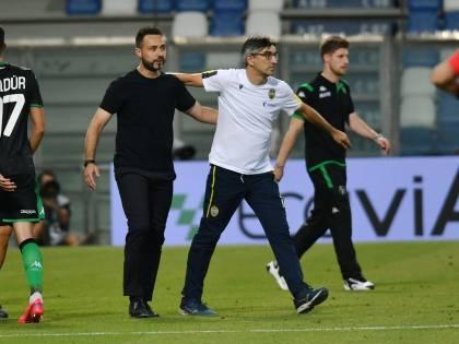 """Juric, ex e genero. """"Arbitra"""" il Verona"""