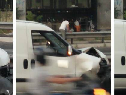 Incidente per schivare il rom ubriaco: così attraversano in tangenziale