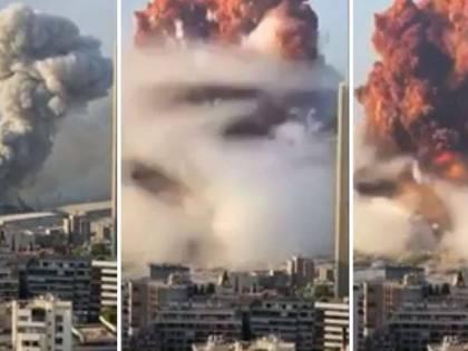 Libano, esplosioni a Beirut: ci sono 3000 feriti e almeno 100 morti