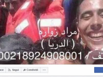 I post del trafficante di irregolari Morad Zuwara