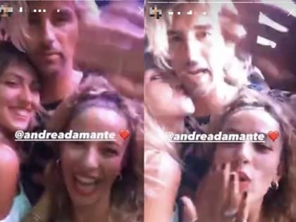 Così Andrea Damante si diverte (in dolce compagnia) lontano da Giulia De Lellis