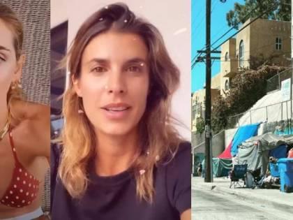 Los Angeles invasa dai senzatetto: i vip italiani fuggono dalla città