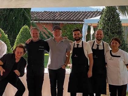 Panzanella e fagioli rossi toscani per gli U2