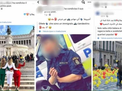 """""""Prendila e portala nell'islam..."""". Foto choc per attrarre migranti"""