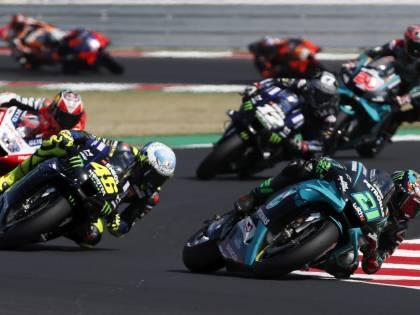 Motogp, beffa finale per Rossi. A Misano prima gioia per Morbidelli
