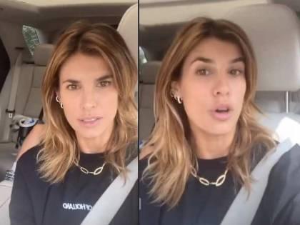 "Los Angeles va a fuoco, Elisabetta Canalis fugge dalla città: ""Aria tossica"""