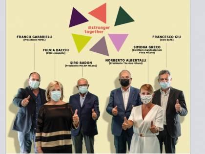 Fiera Milano, va in scena la squadra della moda con #strongertogether