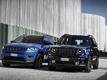 Compass e Renegade 4xe: ibride Jeep all'attacco