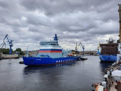 Russia, in rotta verso l'Artico la rompighiaccio più grande del mondo