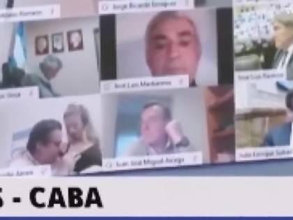 Episodio hot al parlamento argentino: deputato bacia seno della fidanzata in diretta Zoom