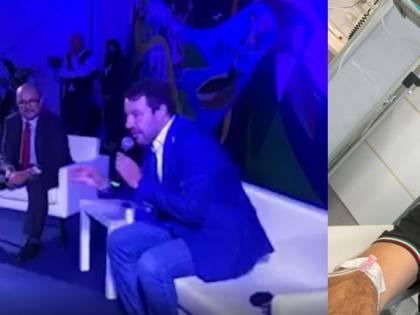 """""""Flebo di cortisone per il mal di schiena"""". Salvini """"febbricitante"""" è un caso"""