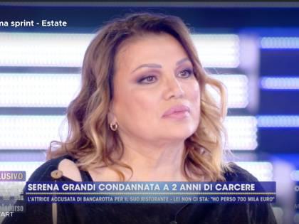 """Serena Grandi condannata per non avere pagato i dipendenti: """"Mio figlio ha pensato di farla finita"""""""