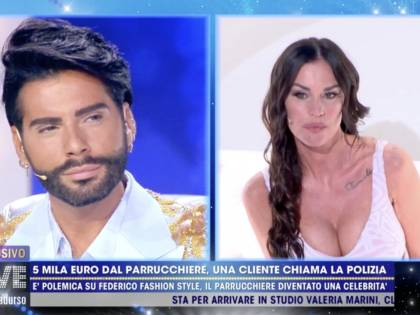 """""""Sei un ladro"""", """"Devi pagarmi"""": la Mosetti e Federico Fashion Style si scannano in diretta"""