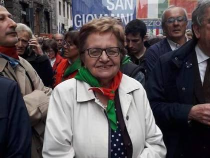 """Morta la presidente dell'Anpi che gridava alla Lega """"fascista"""""""