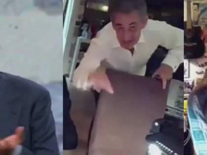Incursione a Che Tempo che fa. E Fazio interrompe l'intervista...