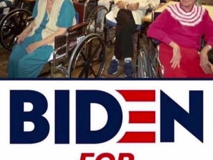 """Trump """"bullizza"""" Biden: foto nella casa di riposo"""