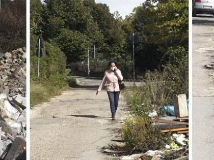 Quel 'fossato' di rifiuti dei rom: arrivare alla Asl è un'impresa