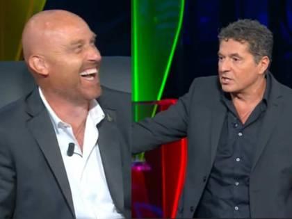 """""""Scemo, ti querelo!"""". Rudy Zerbi dà il numero di Mammucari"""