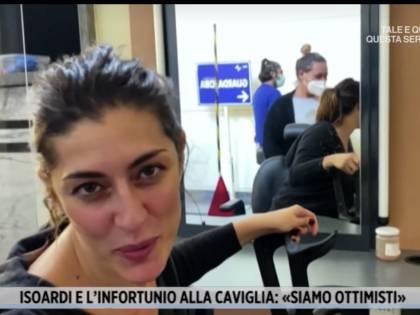 Elisa Isoardi (dolorante) torna a Ballando. Ma c'è una novità
