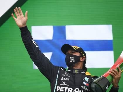 """Lewis sorpassa Schumi: """"Il mio record del mondo"""""""