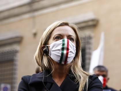 """Dpcm, l'ira della Meloni: """"Misure da rivoluzione"""""""