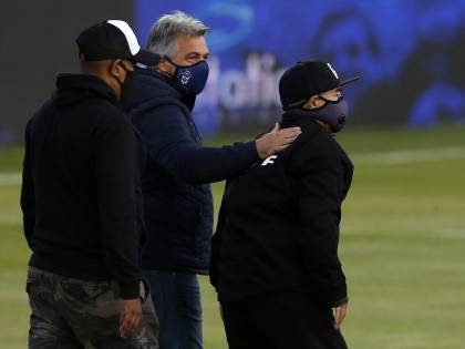 """Maradona ricoverato: """"Ma non per coronavirus"""""""