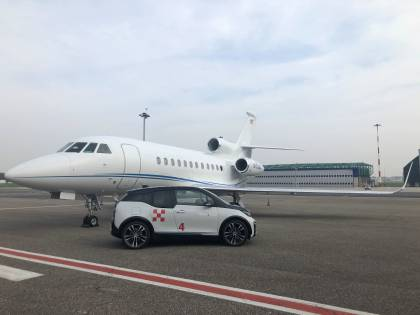 "Voli business, a Linate Prime arrivano le Bmw i3 ""full electric"" per la mobilità sostenibile"