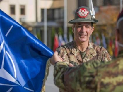 Franco Federici è il nuovo comandante della missione Kfor
