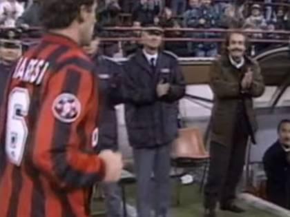 """La """"profezia"""" di Franco Baresi: """"Questo Milan? Perché è come quello di Sacchi"""""""
