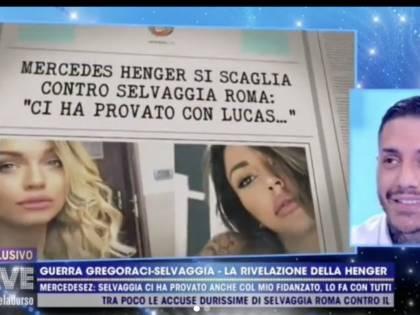 """Le bugie di Selvaggia Roma? """"Ci ha provato anche con il fidanzato di Henger"""""""