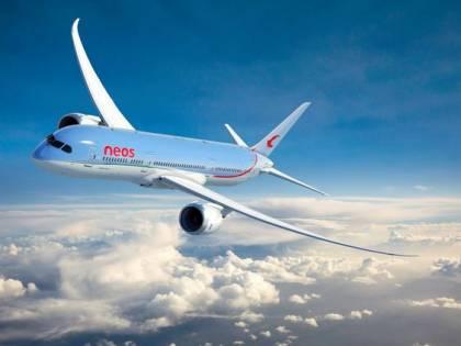 Decollato da Malpensa il primo volo Covid-free di Neos per Nanchino