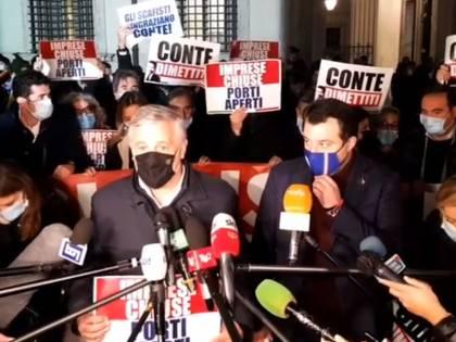 Dl Sicurezza, ira centrodestra: 'Conte adesso deve dimettersi'